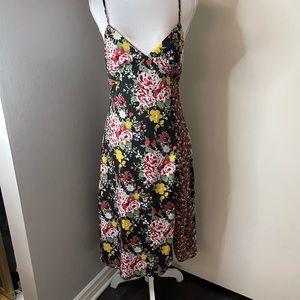 Showpo flowered slip dress, SZ 6